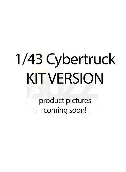 1/43 Cybertruck KIT version