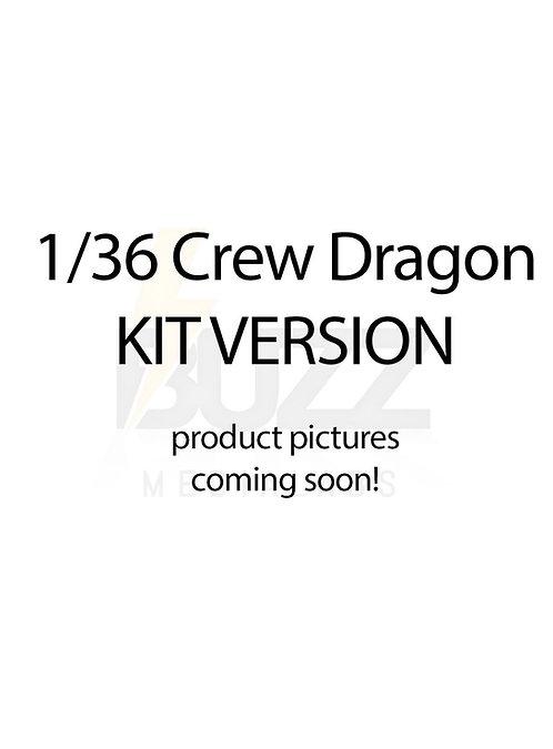 1/36 Crew Dragon KIT version