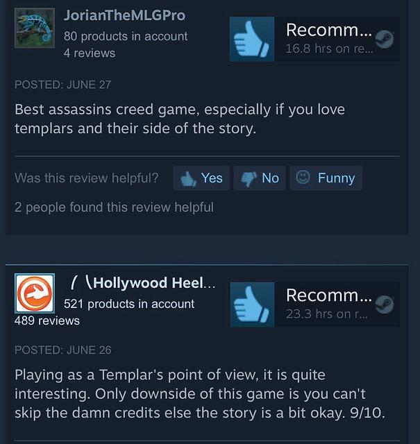 Assassins creed rogue reviews
