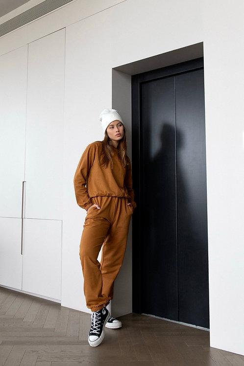 Emalya - Pants (Camel Brown)