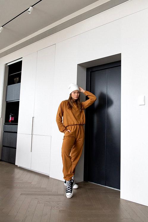 Emalya - Suits (Camel Brown)