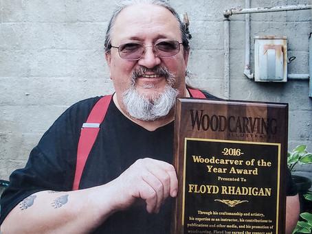 Woodcarver Profile: Floyd Rhadigan