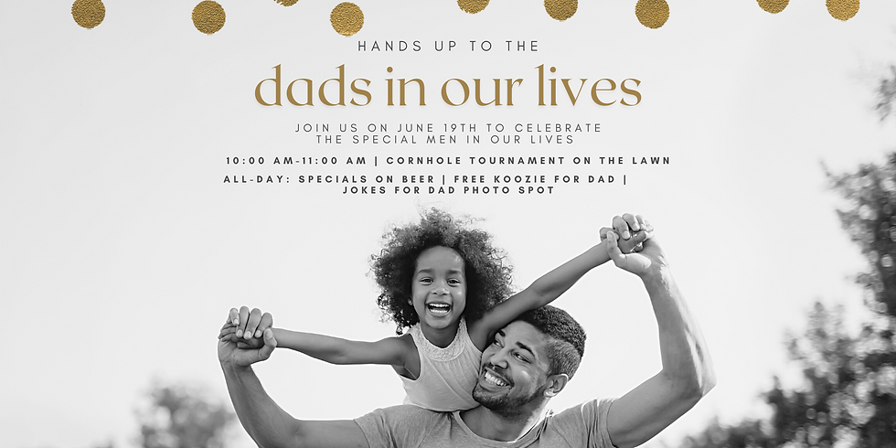 Hands up to the dads in our lives