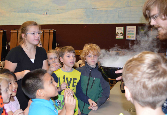 Playing with liquid nitrogen