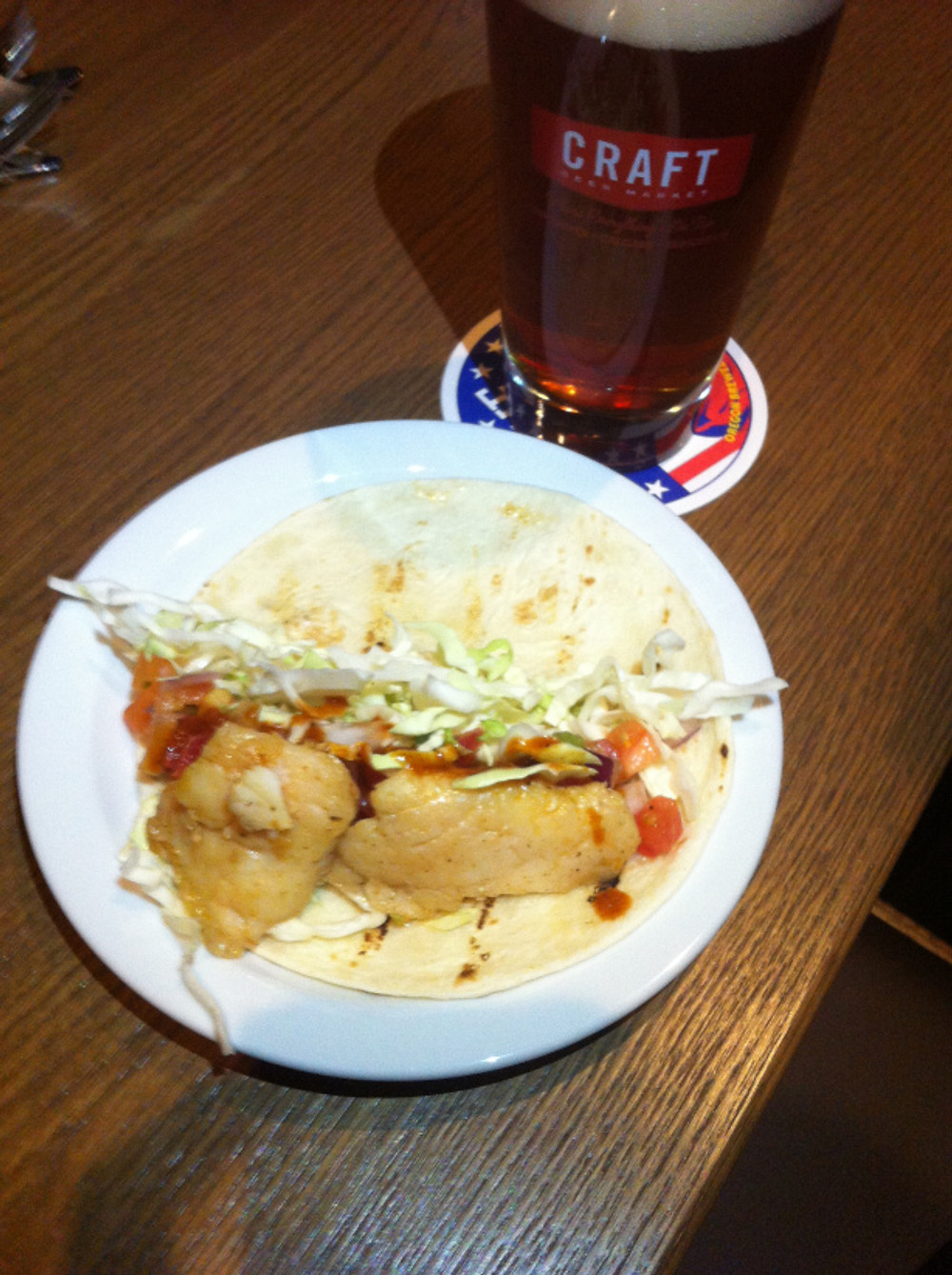 Craft Beer Market Fish Tacos