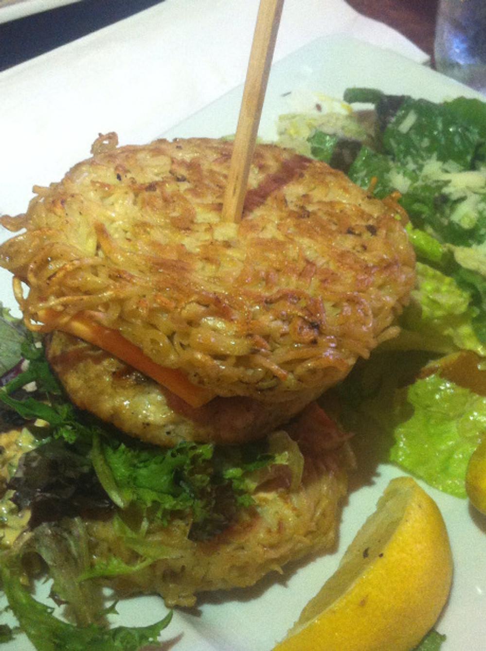 Pourhouse Ramen Burger