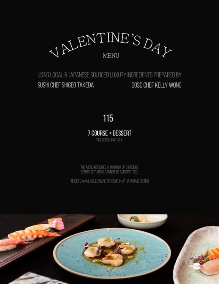 Japonais Bistro Valentines Special