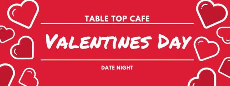 Table Top Cafe Valentines