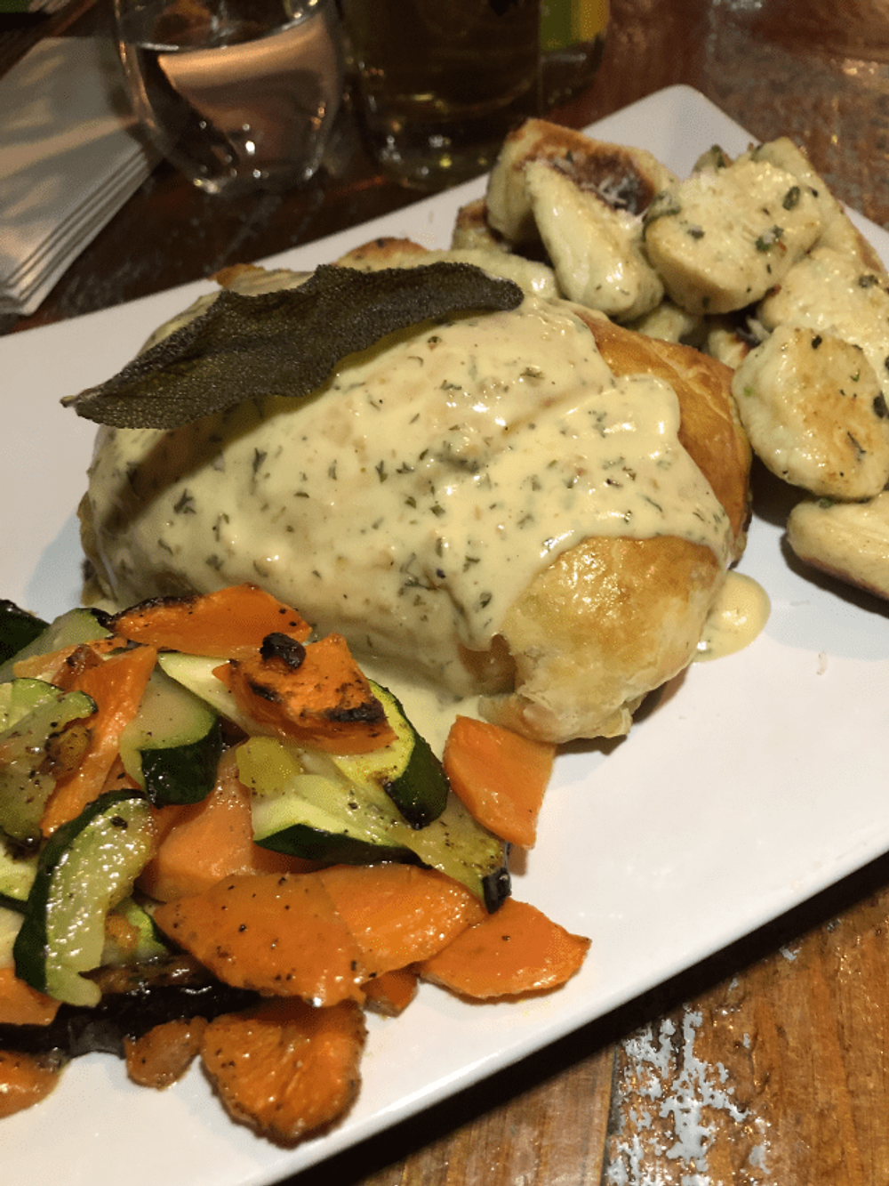 Spinach and Brie Stuffed Chicken Breast