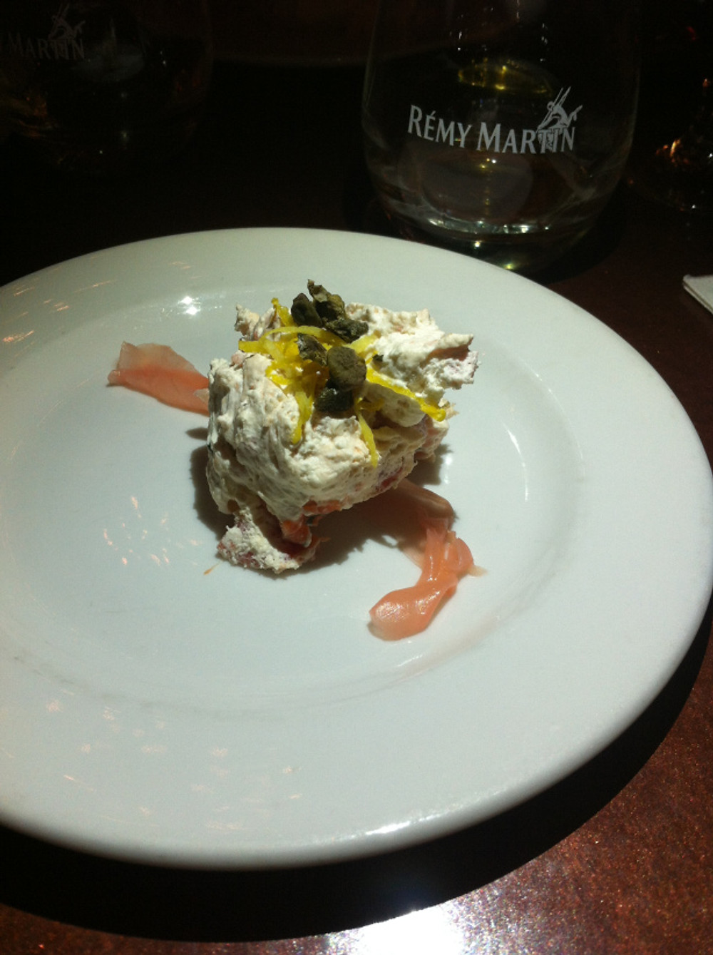 Pourhouse Bier Bistro - Salmon and Miso Mousse