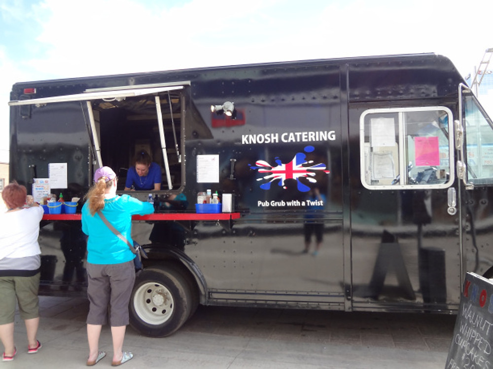 Knosh Catering Food Truck