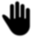 101-1017764_high-five-black-hand-silhoue