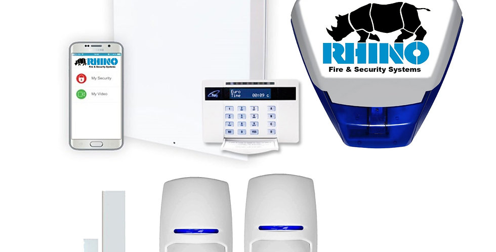 Commercial Wired App Control Security Alarm System (Fitted)