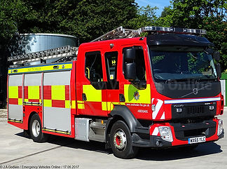 south wale fire and rescue services responding to monitored fire activaion