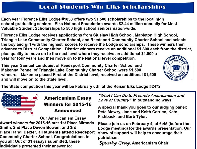 essays on americanism The florida state elks association, inc is a non-profit corporation founded in 1904 it is a voluntary association of elks lodges and all florida lodges are eligible.