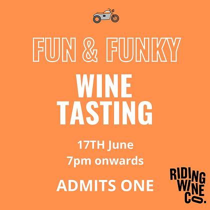 Fun and Funky Wine Tasting