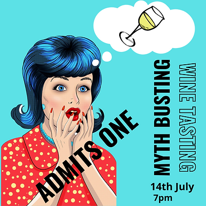 MYTH BUSTING WINE TASTING