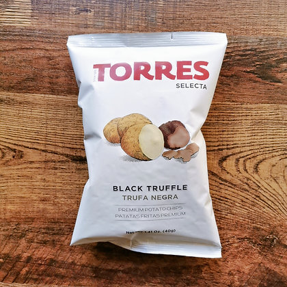 Torres Black Truffle Potato Crisps, 40g