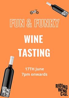 Fun Funky Wine Tasting