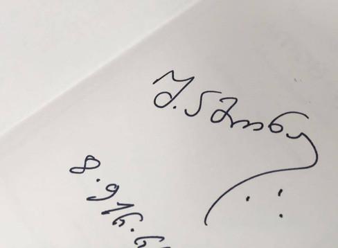 Автограф... По следам семинара Ш.А. Амонашвили.