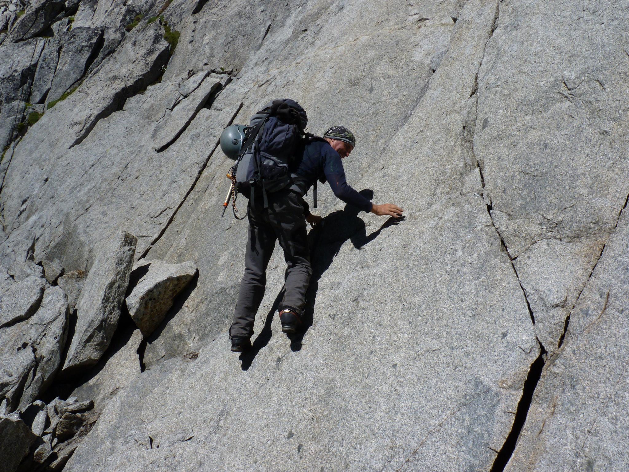 Strahler Schmidt in den Bergen