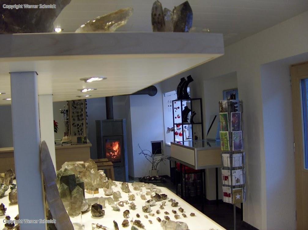 Kristalle Ausstellung Schmidt