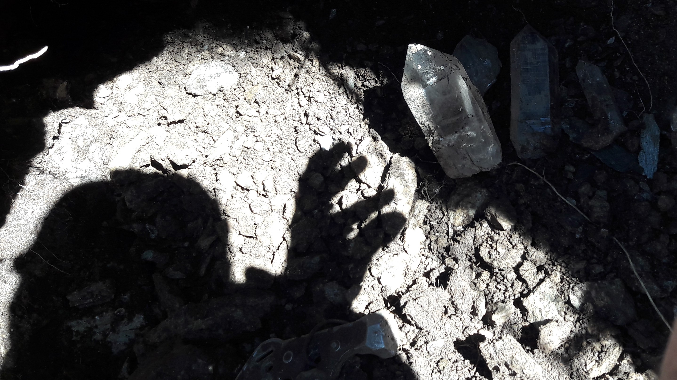 Kristalle Kristallkluft by Werner Schmid