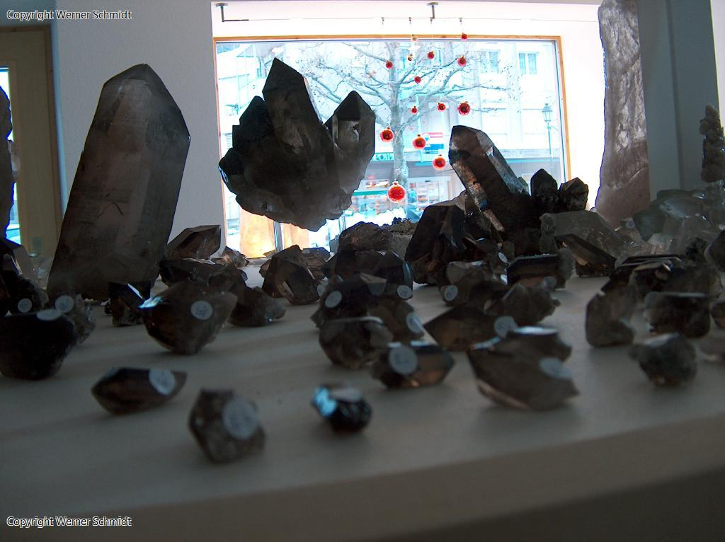 Mineralienausstellung Schmidt