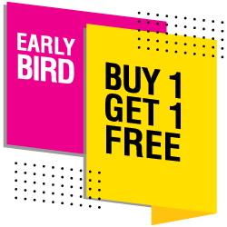 Buy 1 get 1 free Holiday Programme