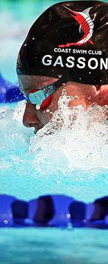 Helena Gasson Olympic hopeful swimming with Coast swim club at Northern Arena