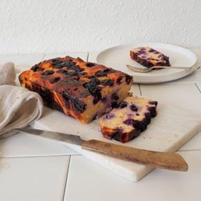 Lemon and Blueberry Paleo Loaf