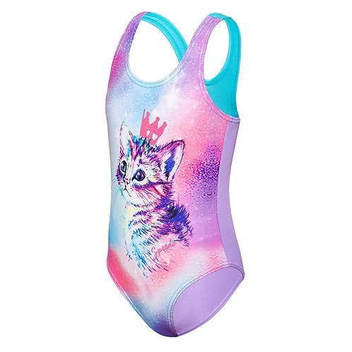 Speedo Toddler Girl's Galaxy Cat