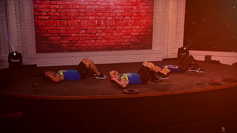 Tone abs, butt and legs with increased core strength and improve your posture with Les Mills CX Worx group fitness class.
