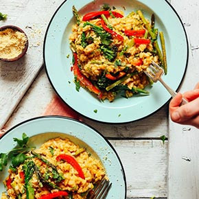 Creamy Vegetable Risotto