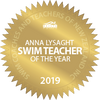 Anna Lysaght Swim Teacher of the year award 2019 SCAT