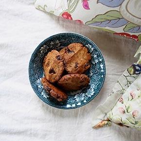 Caramel Dark Chocolate Cookies