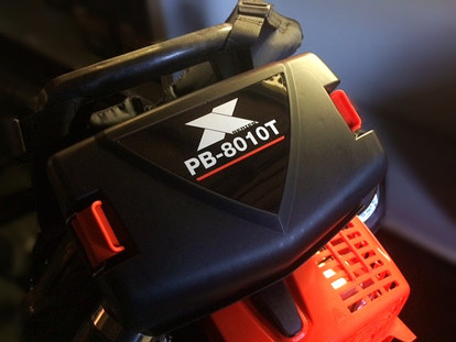 World's most powerful backpack blower