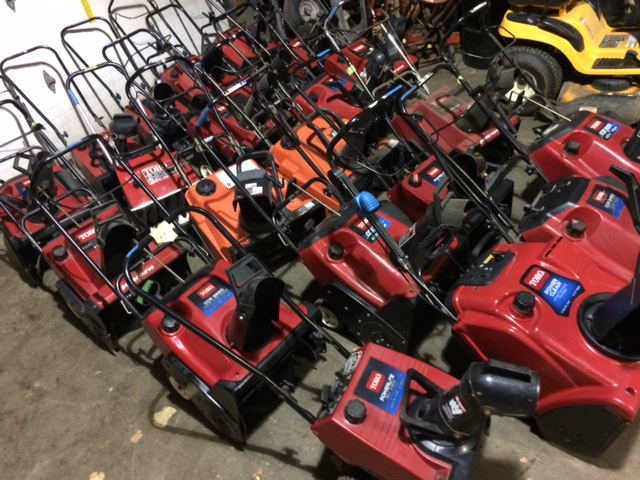 2-Cycle Single Stage Snowblowers