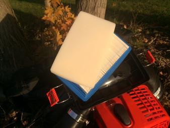 Dual air filter