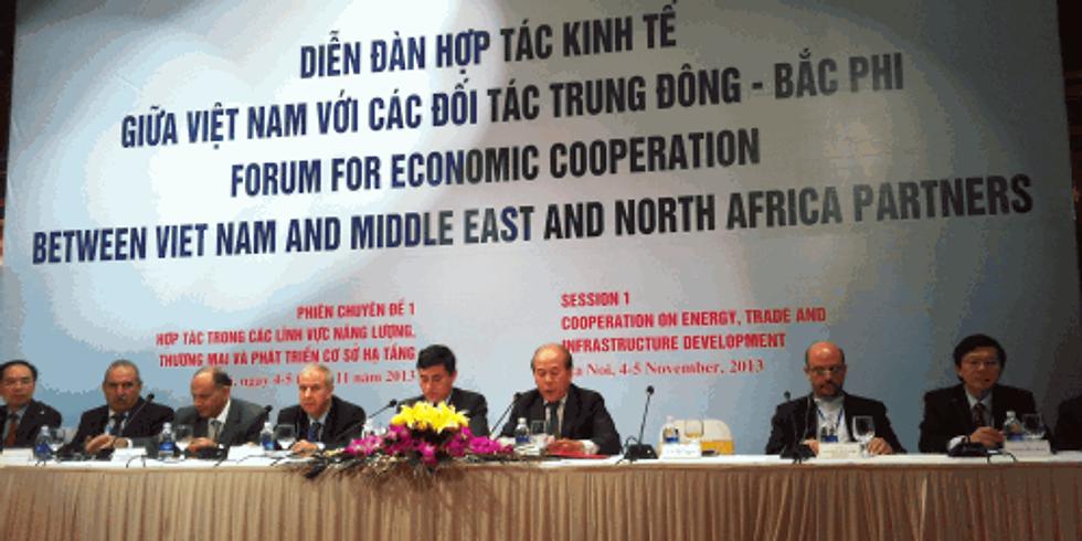 Hội thảo xúc tiến TM & ĐT Trung Đông, Bắc Phi - Việt Nam