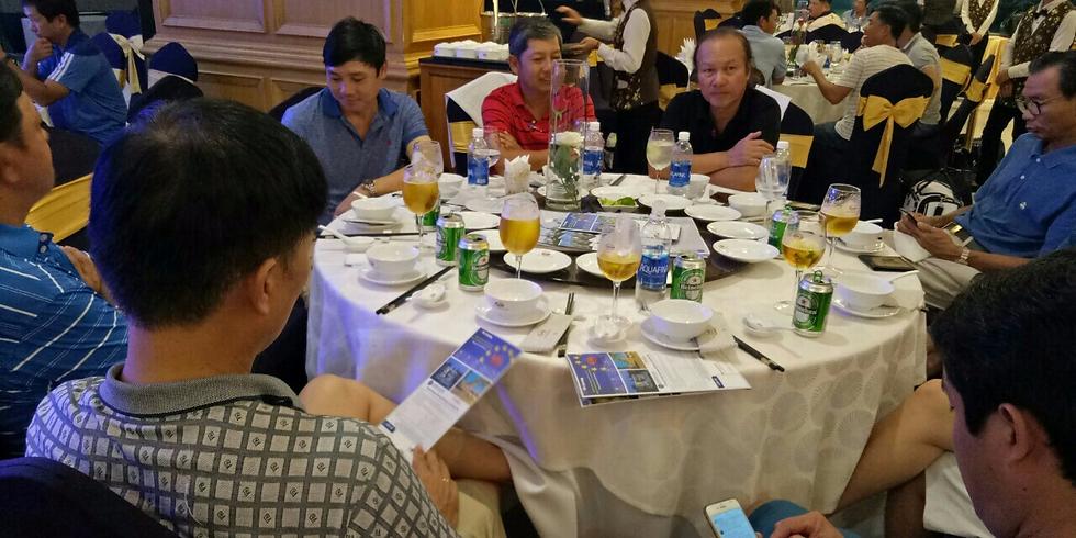 Tiệc giao lưu giữa SAOKHUE-LIVING và các nhà đầu tư tại Phú Mỹ Hưng