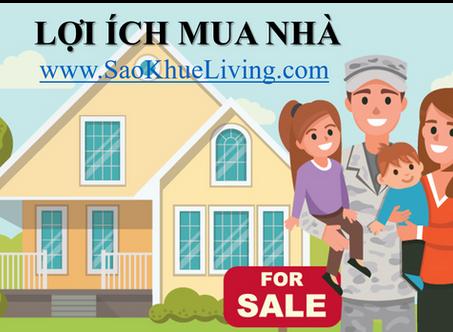 Lợi ích mua nhà tại SaoKhueLiving
