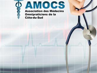 Une version à jour du bottin des médecins de l'AMOCS est disponible