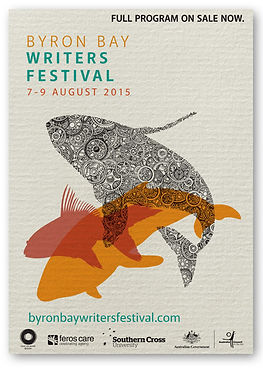 Byron Writers Festival Poster 2015