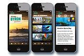Visit Byron Bay App Design