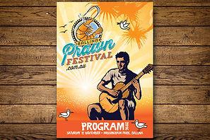 Ballina Prawn Festival Poster Design 2016