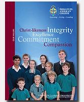 Emmanuel Anglican College Ballina folder design