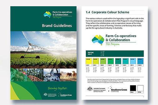 Farm Co-operatives and Collaboration Pilot Program Brand Style Guidelines