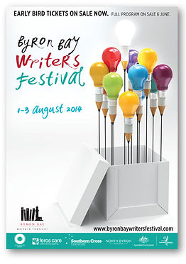 Byron Writers Festival Poster 2014