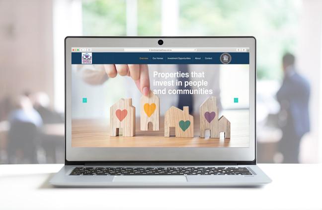 Website Design for 1+1 Property Management